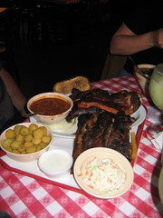 Riscky's BBQ (jantipuesto22) Tags: chicken dallas beef pork ribs conference coleslaw redbeans friedokra