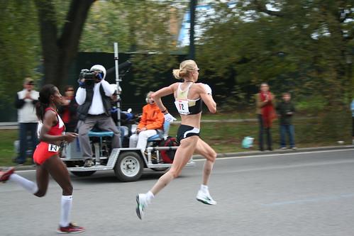 Paula Radcliffe and Gete Wami