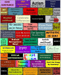 wall_against_hate (rhetorical_64) Tags: wall poster autism autistic advocacy brickwallagainsthate square8