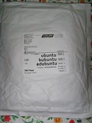 La busta di Ubuntu ShipIt!