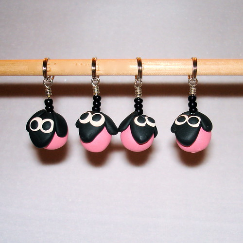 Pink Sheep Stitchmarkers