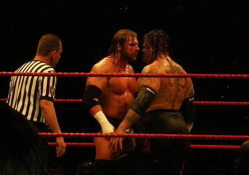 Triple H & Umaga