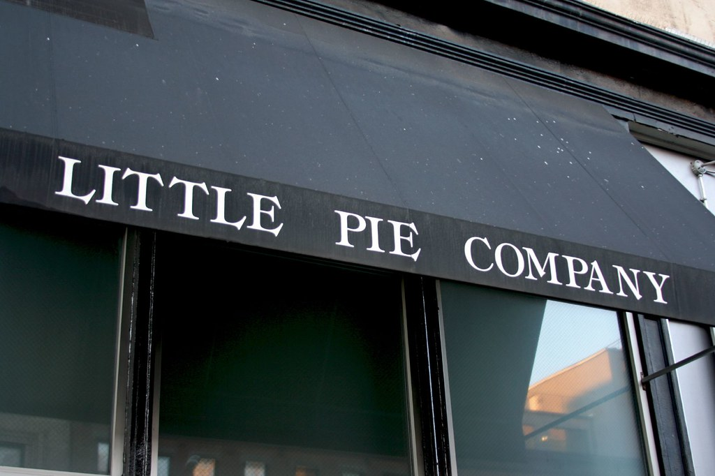 Little Pie Co. signage