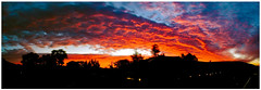 November Sunset (Steve Crane) Tags: sunset sky autostitch panorama southafrica stellenbosch boland westerncape fav10