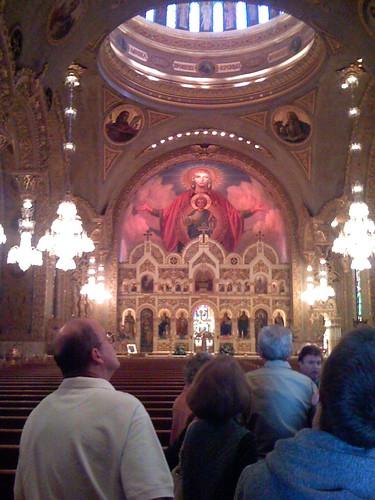 Inside St. Sophia