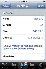 iSolitaire Update 0.4