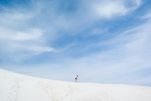 El desierto blanco de Nuevo Mexico