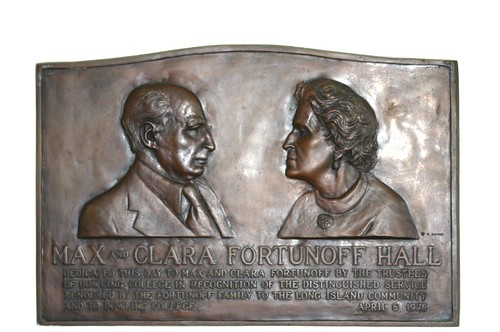 Fortunoff Hall Plaque