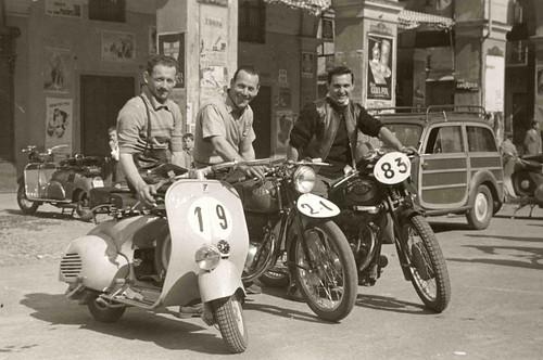 Vespa Racing 1951 A Photo On Flickriver