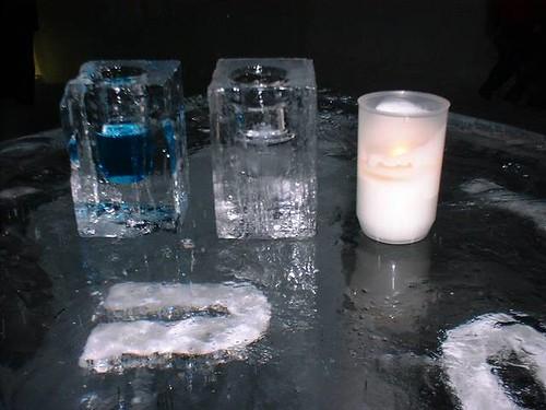 ice glasses, ice hotel sweeden,Arne Bergh & Oke Larsson,2005, joa