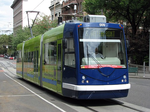 Portland Streetcar. Photo by K_Gradinger.