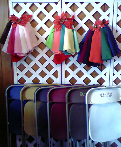 Chairs & Linen: A Rainbow of Colors