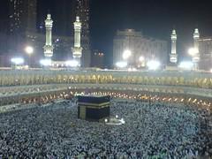 Haram at night (Arabian Eagle) Tags: muslim islam religion middleeast grand mosque mina saudi ramadan haram saudiarabia mecca makkah adha hajj madinat moslem  ramdan    ibraham