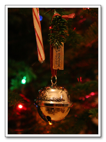 Polar Express Bell Ornament