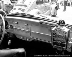 """Bandeira 2"" (how VW taxis were) (Carlos Alkmin) Tags: auto old city blackandwhite bw art classic car vw vintage bug volkswagen interestingness nikon 60s automobile time antique taxi explorer beetle 123 pb explore nostalgia age coche classics 70s carro classical grayscale volks past  tempo passado pretoebranco velho taxicab oldtime oldtimes antigo taximeter fusca maggiolino contador txi taxmetr"