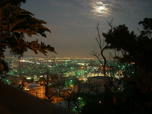Changhua City Night View from Mt. Bagau