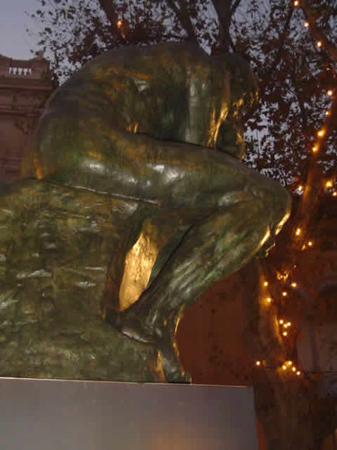 Escultura: el Pensador de Rodin