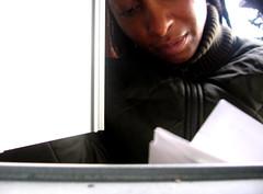 Day 151...I have mail! (bandita) Tags: selfportrait me mailbox junk bills mail 365 365days
