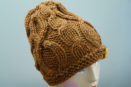 FO: Chunky Tweed Hat
