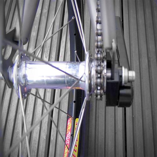 My lightweight Brompton fixed gear bike