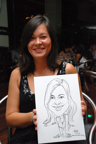 Caricature birthday party 190108 2