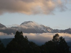 Evening light over mountains (ejbluefolds) Tags: newzealand mountains mountcook