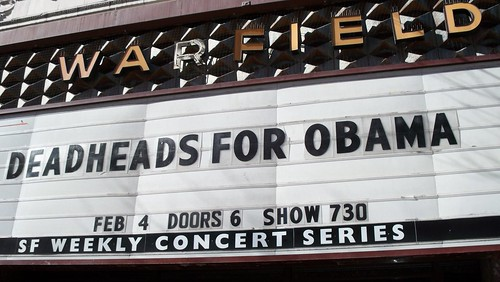 Deadheads for Barack Obama