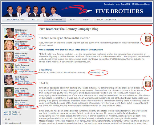 Mitt Romney For President - Blog
