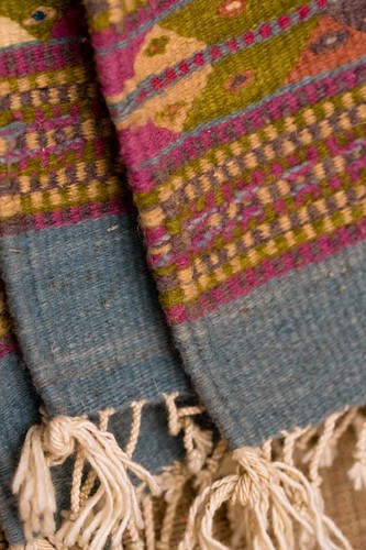 Weaving Inspiration - Oaxacan Weft-Faced