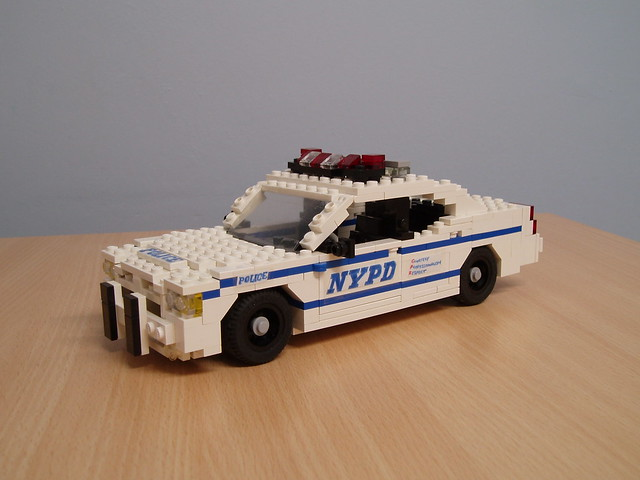 lego nypd policecar dodge charger