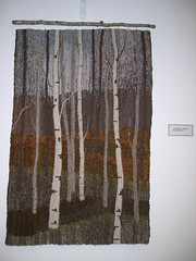 Birches Wall Hanging