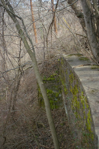 Eastern abutment of the Jug Bridge