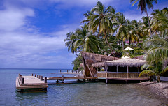 Southern Caribbean Getaway (Jeff Clow) Tags: ocean travel sea vacation holiday building water private outside outdoors island pier quiet escape waterfront cove weekend getaway background peaceful structure palm resort hut achievement retreat goals tropical remote caribbean serene recreation relaxation pure success idyllic luxury stlucia carefree wealth secluded purity aspirations pristine marigotbay successful platinumphoto anawesomeshot jeffrclow margaritaswmeg