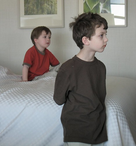 What some little boys would do all day if I let them