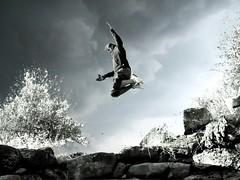Elevation (Stranju) Tags: female clouds u2 experiments nuvole grigio blu teens salto culo roccia bianco nero esperimenti nuraghe arbusto orgia chiappa supershot elevazione stranju saltellante sfidephotoamatori goldstaraward tentativodirecupero salterino