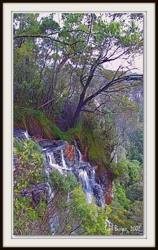 The falls at Ravensbourne National Park