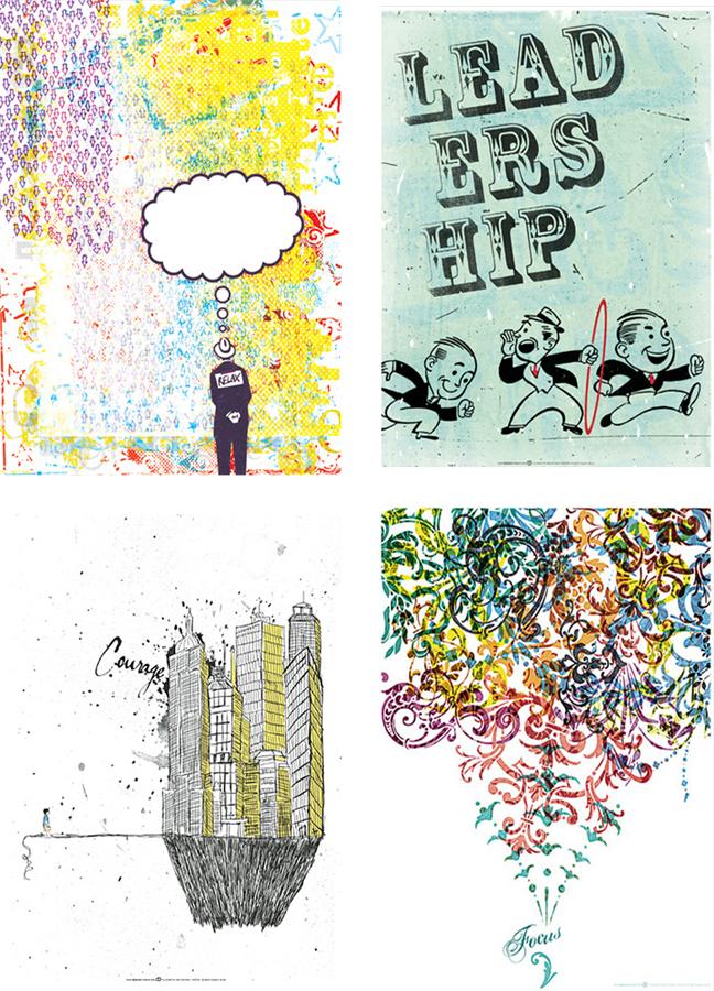Right Brain Terrain {eco posters}