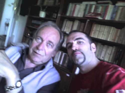 Ezio Giunchiglia e Leo Zagami a Sanremo dall'Avvocato Murgia by soulinspirationpix.