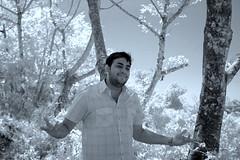 Smevin Posing.... (-Shyam-) Tags: ir infrared kfm3