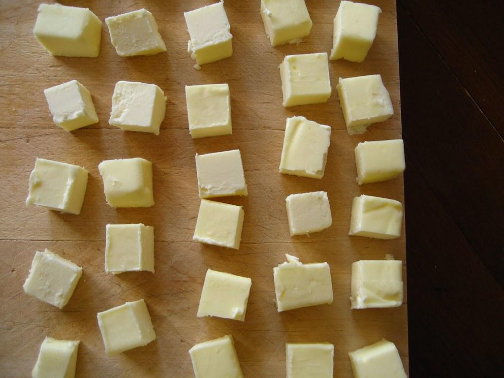butter, defrosting