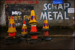 Scrap metal (Mayastar) Tags: glasgow scrapmetal mayastar metalmerchant mayastarphotography shotinglasgow