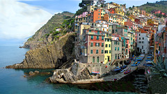 Riomaggiore Cinque Terre Italy (wbirt1) Tags: ocean travel vacation italy landscape scenery europe favorites cinqueterre riomaggiore anawesomeshot top20travelpix billbirtwhistle