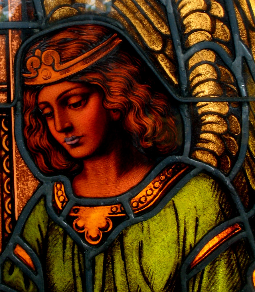 2008 - 05 - 03 - female - detail from stained glass window
