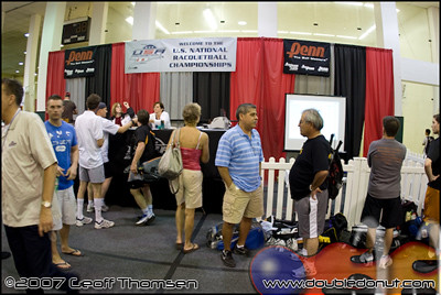 Racquetball Photo: 2008 Racquetball National Singles Players Village
