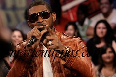 usher cooling out on mtv