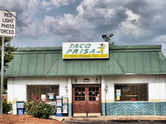 Remember its authentic (DrBlackross) Tags: taco prisa