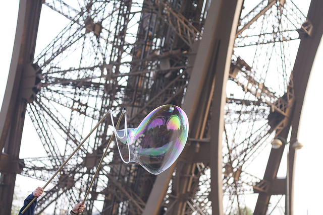 Burbujeando la Torre Eiffel
