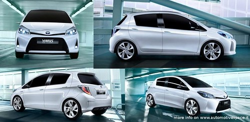 Toyota Yaris Hybrid 2012 ...the cosmetic excellence!