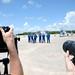 06 Crew arrival - Photo Credit: Michele Famiglietti AMS02 Collaboration