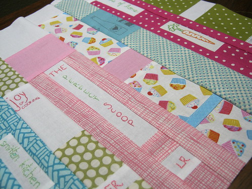 sew buzzy for patchwork queen (vicky) detail